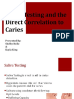 presentation saliva testing