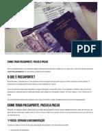Como Tirar Passaporte_ Passo a Passo _ Revista de Viagem