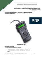 Práctica de Laboratorio 8.4.1 Actividad de Laboratorio Sobre Conectores de Medios