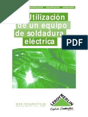 Soldadura Electrica Uso Equipo Soldadura Materiales