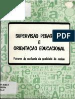 Supervisao Pedagogica e Orientao Educacional