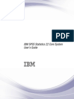 IBM SPSS Statistics Core System User Guide