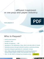 PAQUES - Anaerobic Effluent Treatment Pulp & Paper