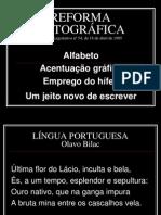 Reforma Ortografia