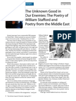 Poetry Commentary Wendt