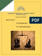 Programa de Orientacion y Asistencia Juridica Gratuita Caritas (Pro.aj)