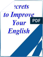Secrets to Improve My English