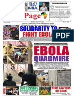 Friday, August 29, 2014 Edition