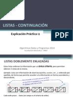 EP12-2014 Listas - Continuacion