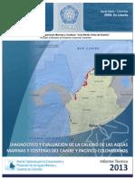 INFORME Calidad Ambiental Marina - Colombia 2013