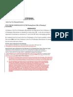 #4 URC / Solicitor & Planning Amendments