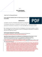 #3 URB / Solicitor & Planning Amendments