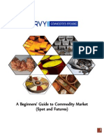 A Beginners' Guide to Commodity Market (Spot and Futures)