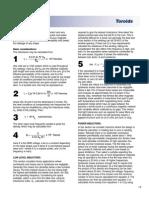 Toroid Design Considerations