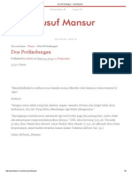 Doa Perlindungan - Yusuf Mansur
