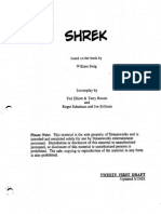 Screenplay Shrek