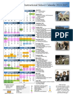 episd district calendar 2014-15