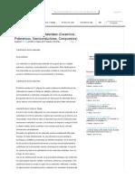 Clasificacion de Los Materiales (Ceramicos, Polimericos, Semiconductores, Compuestos) - Investigaciones - Vicbling