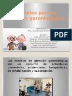 Modelos Para La Atención Gerontológica
