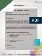 Adobe Dreamweaver CS5 Nivel 1