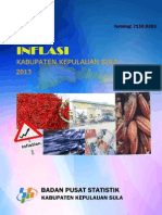 Inflasi Kabupaten Kepulauan Sula Tahun 2013 Lengkap