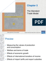 Chapter 5 - The Standard Trade Model