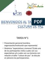 Presentación Cultura de Paz_percis