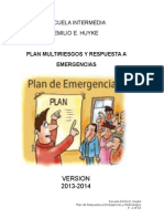 Plan Escolar Multiriesgos