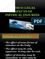 Medico-legal Aspects of Physical Injuries - REGIE C. BANGAYAN