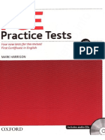 Oxford - FCE Practice Tests With Key