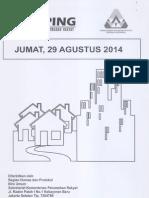 Kliping Berita Perumahan Rakyat, 29 Agustus 2014