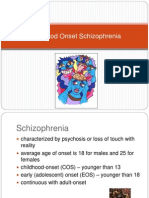 childhood Onset Schizophrenia(1)