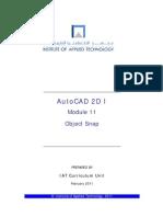 Autocad 2d i Module11