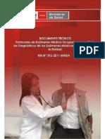 5. R.M. 312-2011 MINSA Protocolos de Exámenes Médicos Ocupacionales