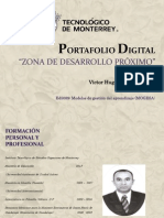 Portafolio Digital. Victor Alférez. A00539173