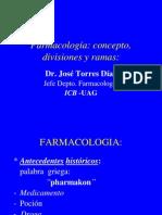 1.Conceptos de Farmacologia