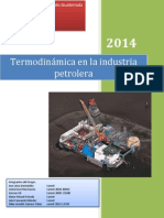 Termodinamica en La Industria Petrolera