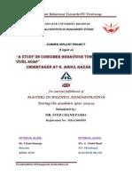 A Study on Consumer Behaviour Towards ITC vivel soap In Raichur City