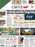 Periódico Norte edición del día 29 de agosto de 2014