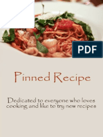Pinned Recipe