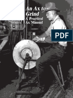 An Axe to Grind_A Practical Ax Manual_ by Bernie Weisgerber_ Usda Forest Service