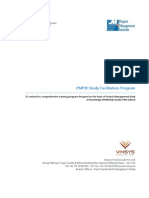 PMP Study Facilitation Program-PMBOK 5th Edition