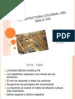 Arquitectura Colonial Del Siglo Xvi