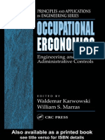 Ergonomics Engineering and Administrative Controls