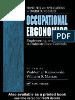 Ergonomics Engineering and Administrative Controls