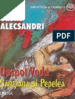 Alecsandri Vasile - Despot Voda (Aprecieri)