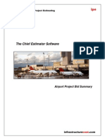 400- International Airport Bid Summary