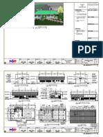 Multi Purpose Deped Working Drawings Architectural Plan.