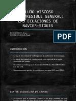 Ecuaciones de Navier - Stokes