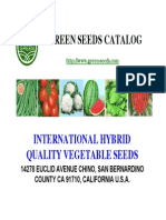 Green Seeds Catalog 2014 New
